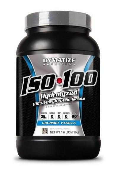 image of Συμπλήρωμα Διατροφής Dymatize ISO-100 Protein 1.6 lb - 726 gr
