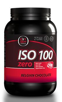 image of Συμπλήρωμα Διατροφής OXYGEN NUTRITION ISO 100 Zero 1000gr