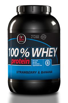 image of Συμπλήρωμα Διατροφής OXYGEN NUTRITION 100% Whey 2270gr