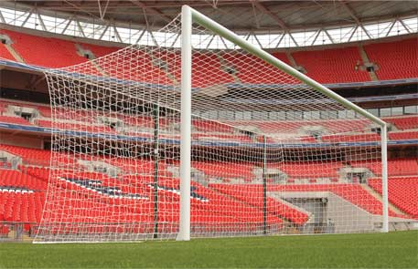 image of Δίχτυ ποδοσφαίρου 7.32 x 2.44 x 2.00 x 2.00 κλωβός 4mm RAMOS