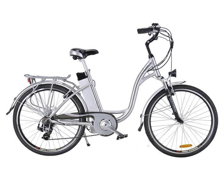 image of Ηλεκτρικό ποδήλατο με αυτονομία 100 χλμ Tropical FAMILY