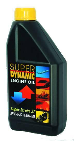 Υψηλής απόδοσης συνθετικό λιπαντικό για δίχρονους κινητήρες Super Dynamic TTS
