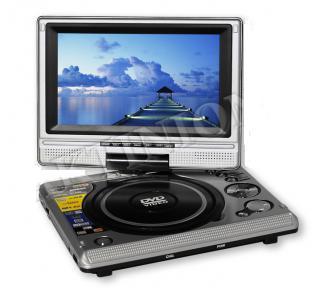 DVD ΜΕ MONITOR & TV SABER QTDS79 7''