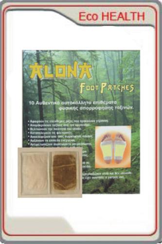 Φυσικά Επιθέματα Αποτοξίνωσης Alona - Iasis Detox Foot Patches
