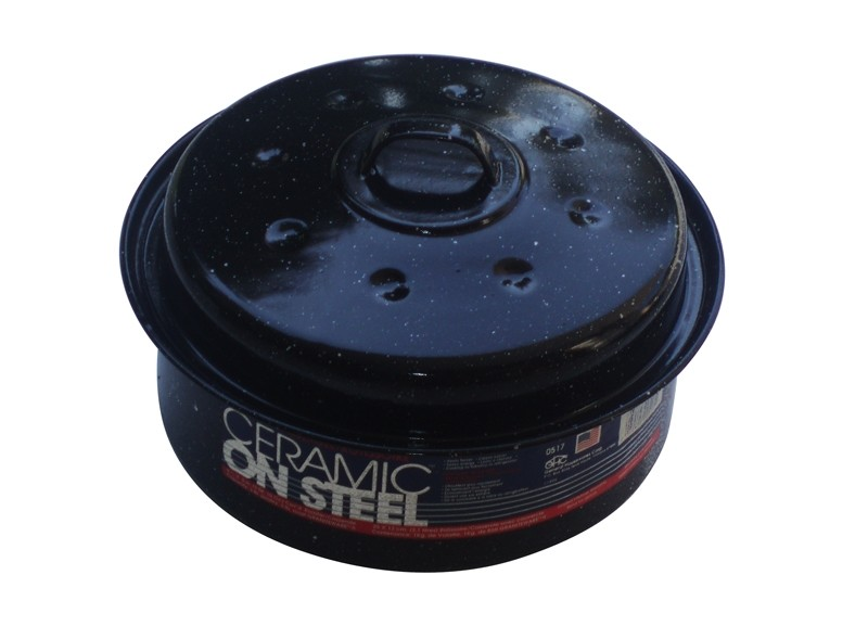 Γάστρα Εμαγιέ Στρογγυλή Ceramic on Steel USA ΗΜ 30020