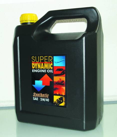 Υπερενισχυμένο συνθετικό λιπαντικό l 5W/40 4L Super Dynamic