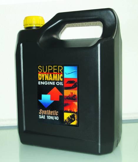 Υπερενισχυμένο συνθετικό λιπαντικό 10W/40 4L Super Dynamic