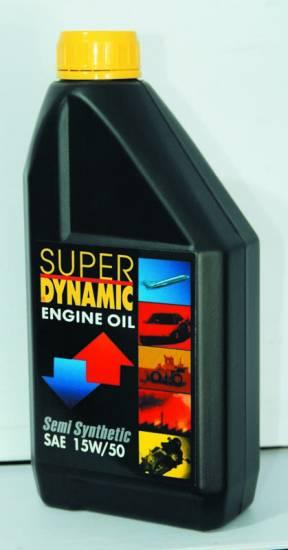 Υπερενισχυμένο ημισυνθετικό λιπαντικό 15W/50 1L Super Dynamic