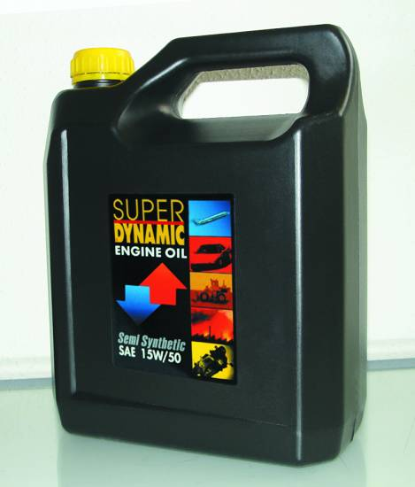 Υπερενισχυμένο ημισυνθετικό λιπαντικό 15W/50 4L Super Dynamic