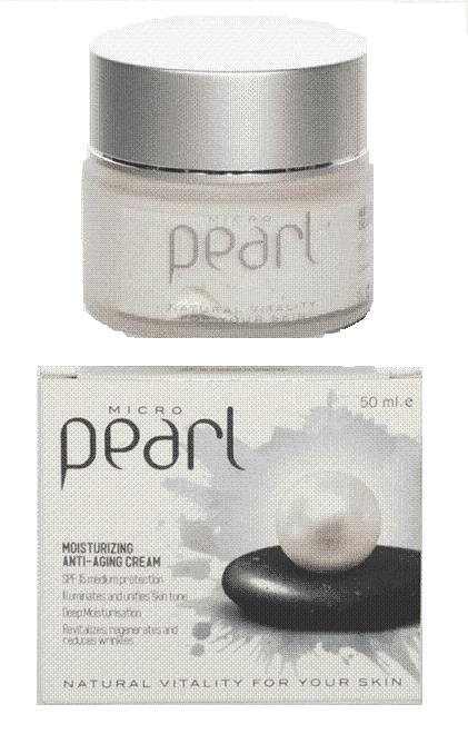 Ενυδατική κρέμα προσώπου με μαργαριτάρι Pearl Daily Cream