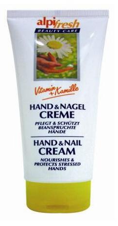 Γερμανική Κρέμα χεριών με χαμομήλι 100 ml CAMOMILE Alpi Fresh