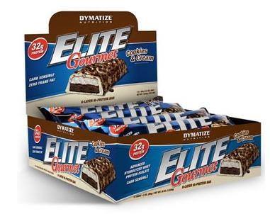 Συμπλήρωμα Διατροφής Dymatize Elite Gourmet Protein Bar 6 x 42,5