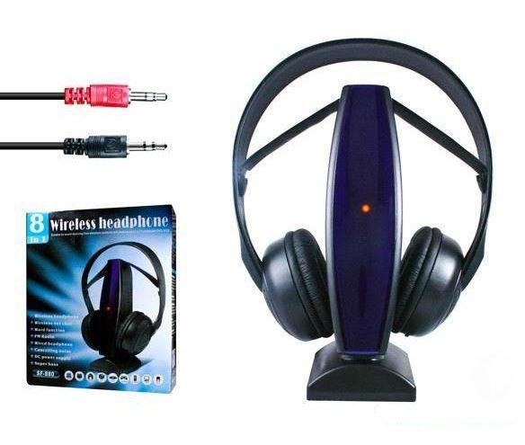 Ασύρματα ακουστικά 8 in 1 WIRELESS HEADPHONE SF-880