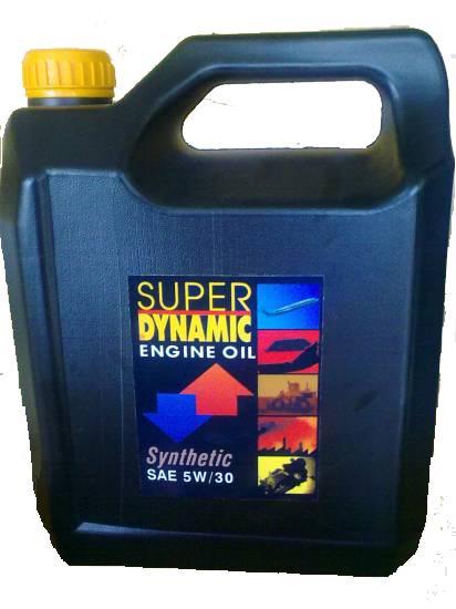 Υπερενισχυμένο συνθετικό λιπαντικό 5W/30 4L Super Dynamic