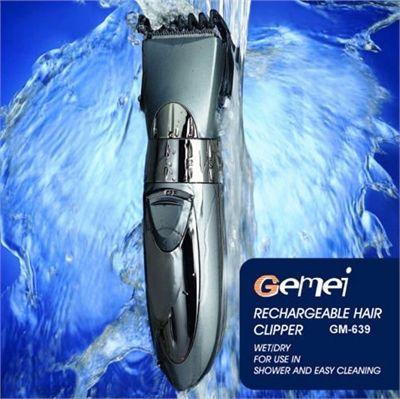 Επαγγελματική Επαναφορτιζόμενη Κουρευτική & Ξυριστική μηχανή GEMEI GM-639