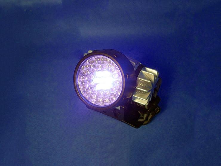 Φακός κεφαλής με 16 LED και ρυθμιζόμενη κλήση OEM 4450