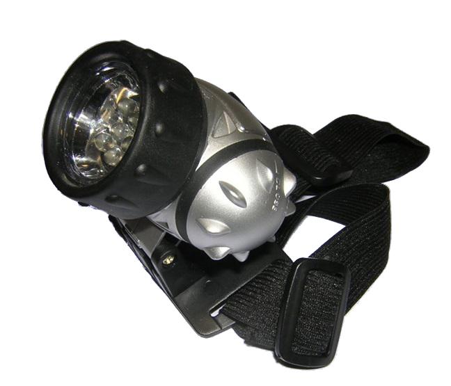 Φακός κεφαλής με 8 LED και ρυθμιζόμενη κλήση OEM 4450