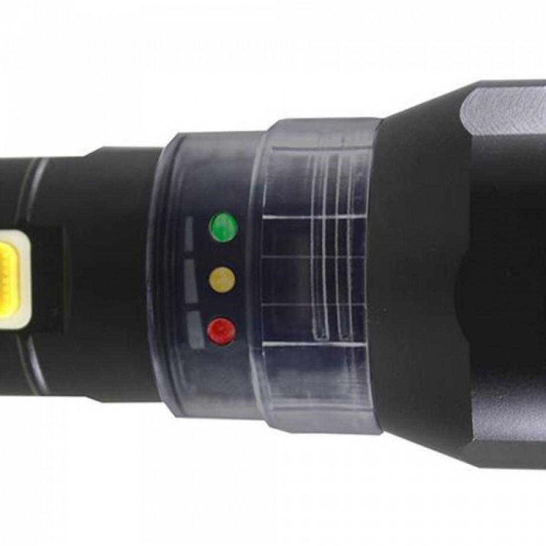 Φακός αλουμινίου επαναφορτιζόμενος με εστίαση δέσμης CREE LED 120 Lumens CT2105 CATERPILLAR