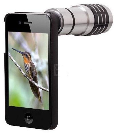 Φακός κάμερας για το smartphone ή το κινητό τηλέφωνο με Ζοομ 12x  Mobile Telephoto Lens OEM 1201