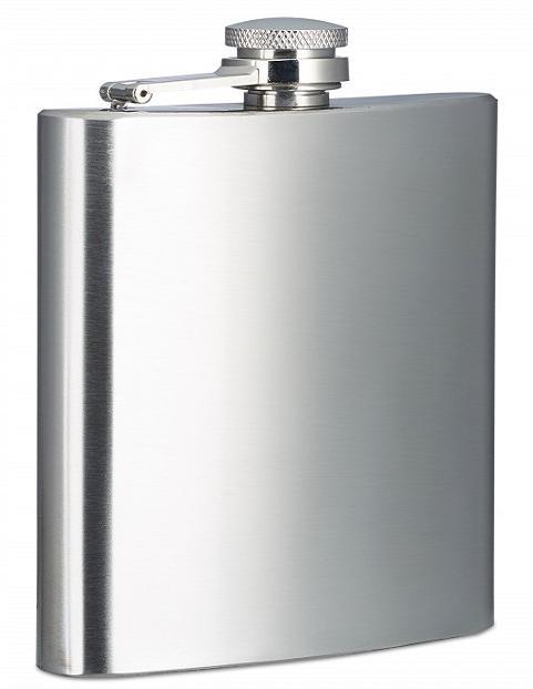 Φλασκί ποτού ανοξείδωτο 180ml