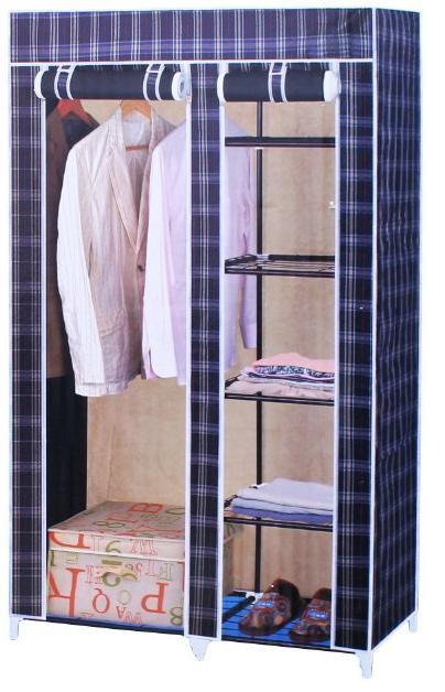 Φορητή υφασμάτινη ντουλάπα  175x45x105 cm YISHIMAN YSM