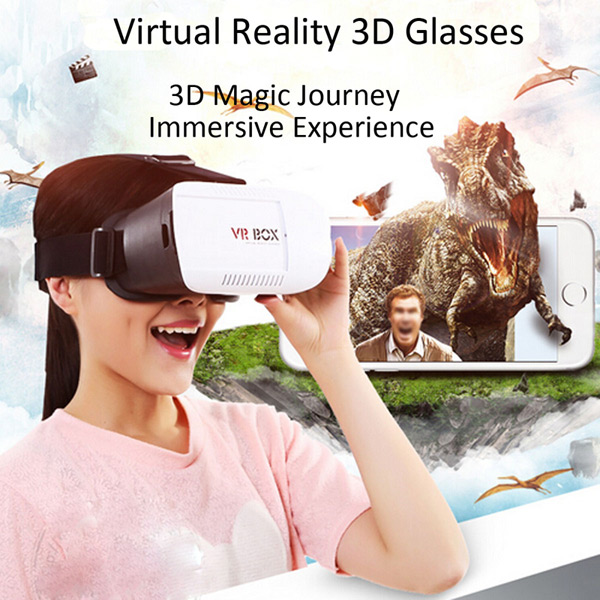 295f81ca3e Γυαλιά 3D Εικονικής Πραγματικότητας με ασύρματο χειριστήριο Bluetooth  Controller VR Box OEM 43735