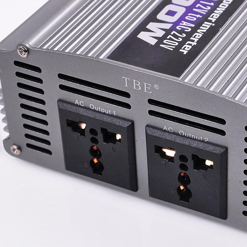 Inverter 2000W 12V to AC 220V Τροποποιημένου Ημιτόνου TBE
