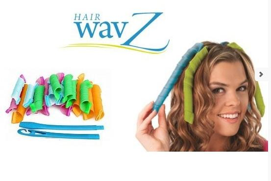 Rollers για Κυματιστές Μπούκλες Hair Wavz HW-0012