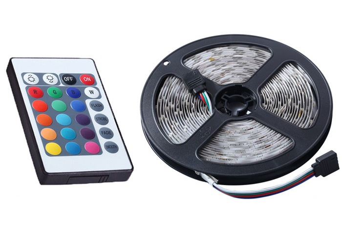 Σετ Αδιάβροχη Ταινία LED 5 Μέτρων White 60SMD 3,6W 12V Με Τροφοδοτικό OEM M0363