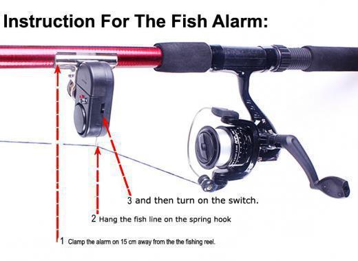 Συναγερμός ψαρέματος & ειδοποιητής τσιμπήματος OEM FISHING ALARM