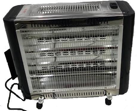 Θερμάστρα Χαλάζια με Ανεμιστήρα & Υγραντήρα 2800W SILVER QT82-A