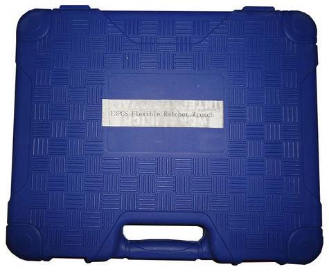 Βαλίτσα γερμανοπολύγωνα χρωμίου βαναδίου με σπαστή καστάνια 13 τμχ. Kraftman