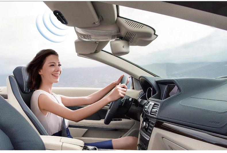Συσκευή ανοιχτής συνομιλίας αυτοκινήτου με ηχείο 2W Bluetooth V3.0 handsfree Car kit OEM E01