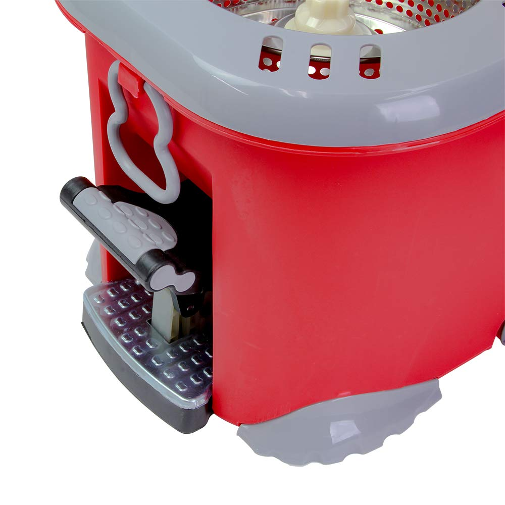 Έξυπνη σφουγγαρίστρα περιστροφής με σύστημα στίψης Liao Tornado Mop