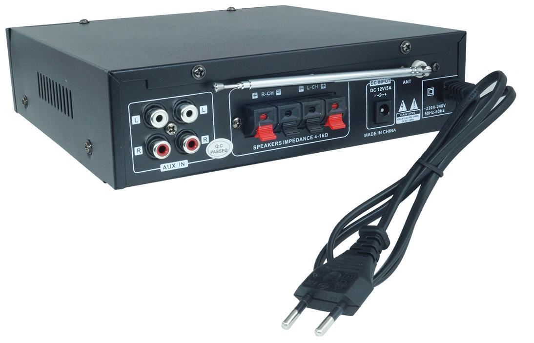 Ενισχυτής stereo audio 2 bluetooth usb sd mp3 karaoke TELI BT-158