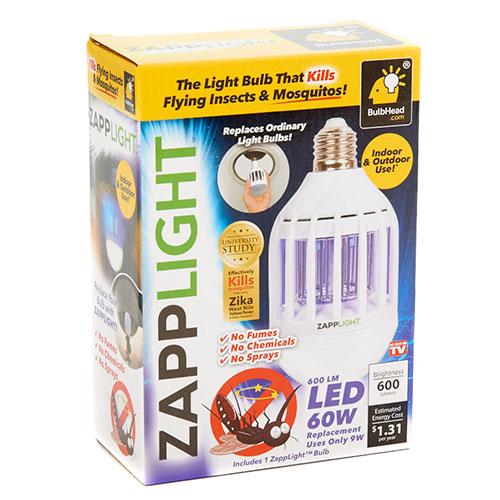 Εντομοκτόνο λαμπτήρας led 60W ZappLight Bug Zapper