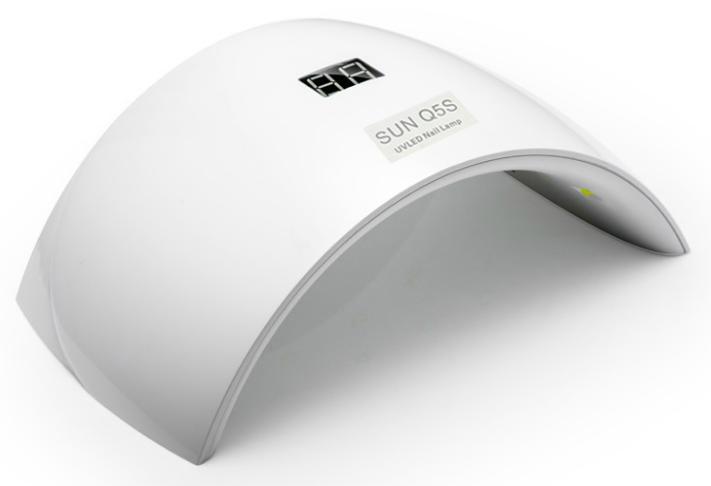 Επαγγελματικό Φουρνάκι Νυχιών Με Λάμπες LED UV 24W ME LCD Oθόνη 0175-64468