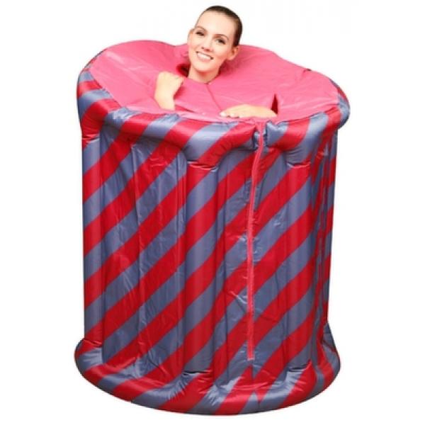 Φορητή Σάουνα Ατμού με Αδιάβροχη Ολόσωμη Καμπίνα Steam Spa Sauna