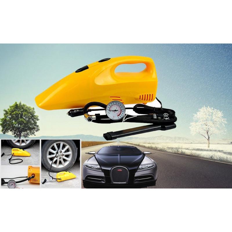 Φορτιστής τρόμπα ελαστικών και ηλεκτρικό σκουπάκι αυτοκινήτου 2 σε 1 MRCar CAC-02
