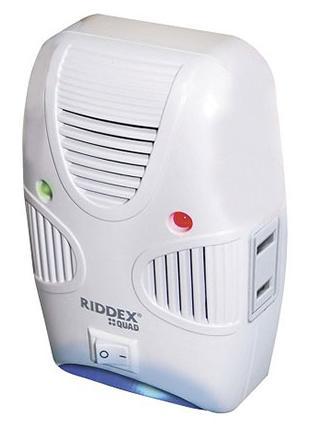 Ηλεκτρονικός διώκτης εντόμων και τρωκτικών με ηπερήχους Riddex Quad Pest Repeller