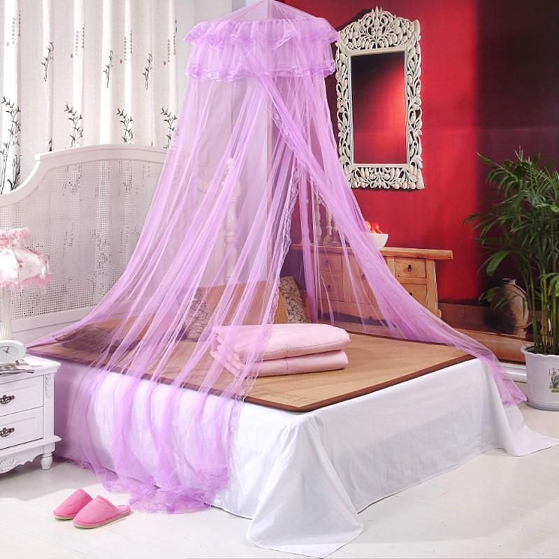 Κουνουπιέρα για διπλό κρεβάτι με πλήρες κιτ κρέμασης Yahe AI-008