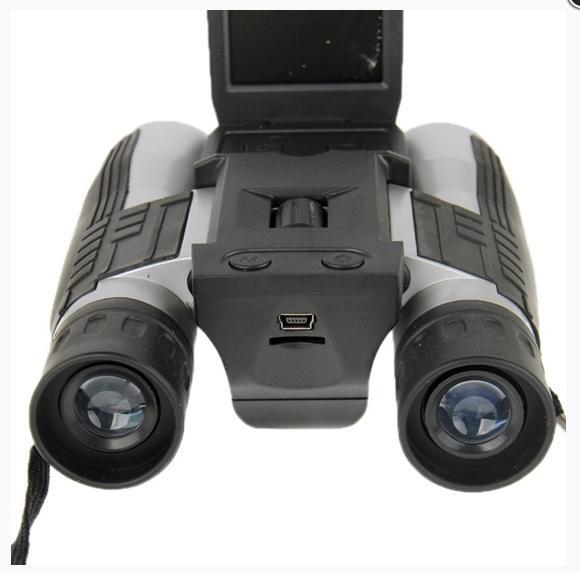 """Κυάλια με κάμερα HD ψηφιακή 12 x 32 & Ενσωματωμένη οθόνη 2"""" OEM"""