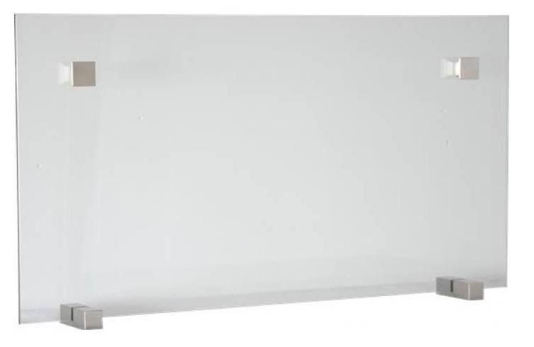 Προστατευτική σίτα ίσια από γυαλί για το τζάκι Ecohot ΝΙΚΕΛ MAT