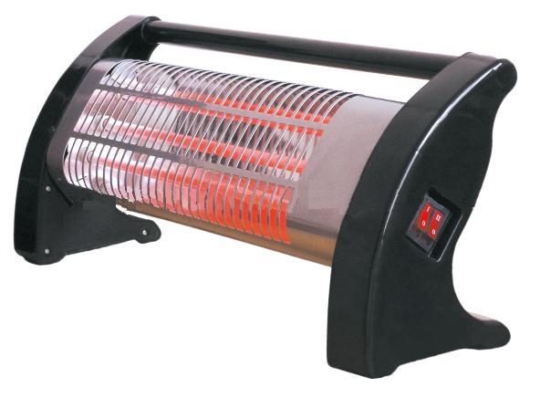 Σόμπα θερμάστρα χαλαζία 1500w SILVER QT32