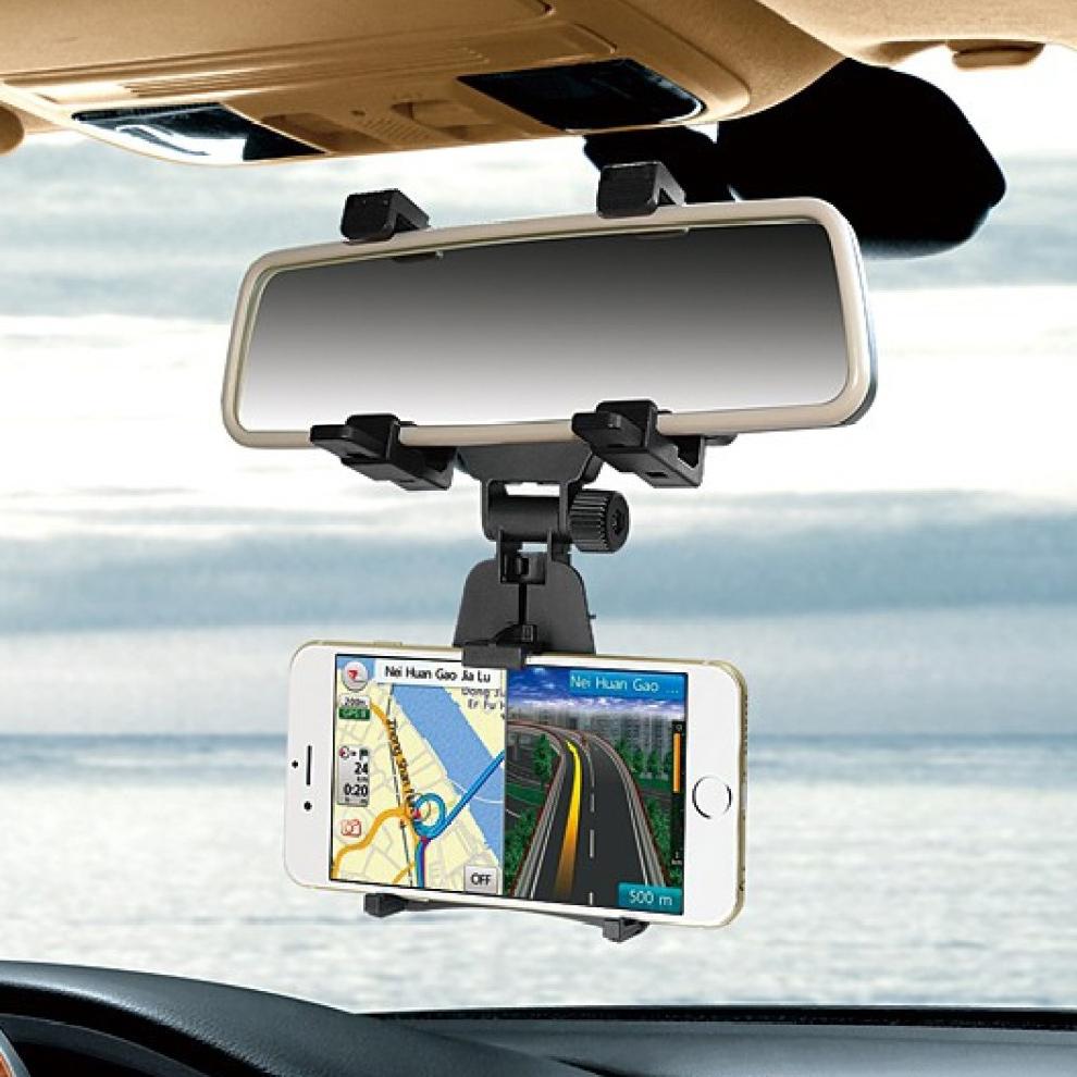 Βάση Στήριξης Κινητών Για Τον Καθρέφτη Του Αυτοκινήτου Universal Mobile Car Rear View Mirror OEM
