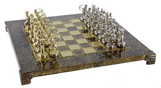 Χειροποίητο μεταλλικό σετ σκακιού με τοξότες S15