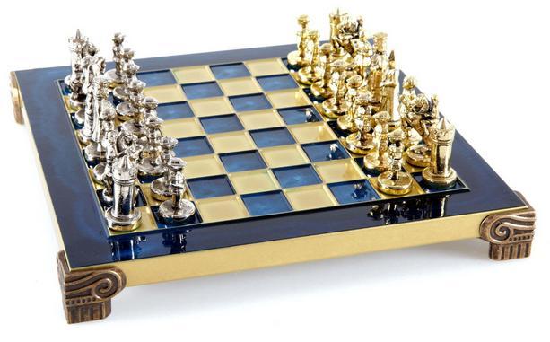 Χειροποίητο μεταλλικό σετ σκακιού της Βυζαντινής Αυτοκρατορίας SK1
