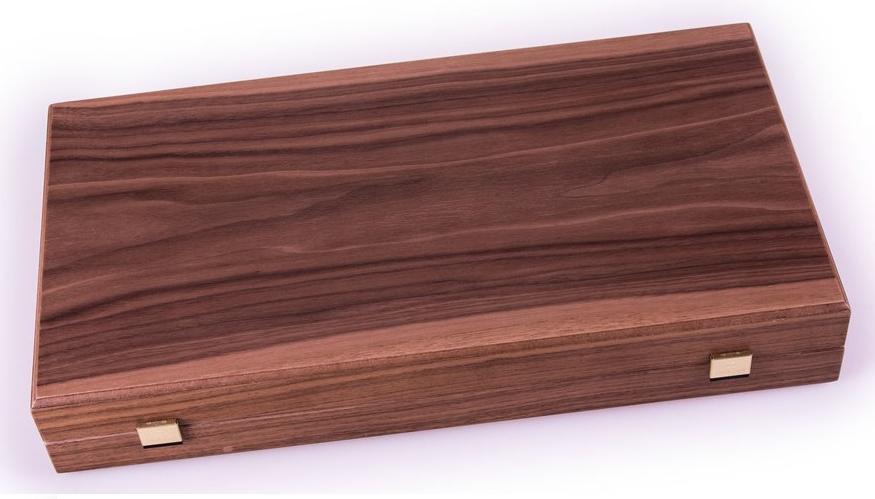 Χειροποίητο τάβλι 48 x 50cm  με φυσικό ξύλο καρυδιάς MANOPOULOS TKK1