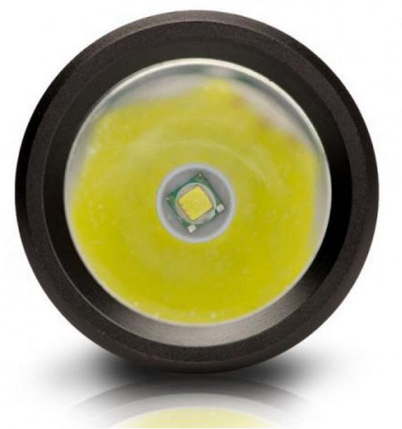 Φακός Αλουμινίου Χειρός CREE LED 200 Lumens CAT CT12353P
