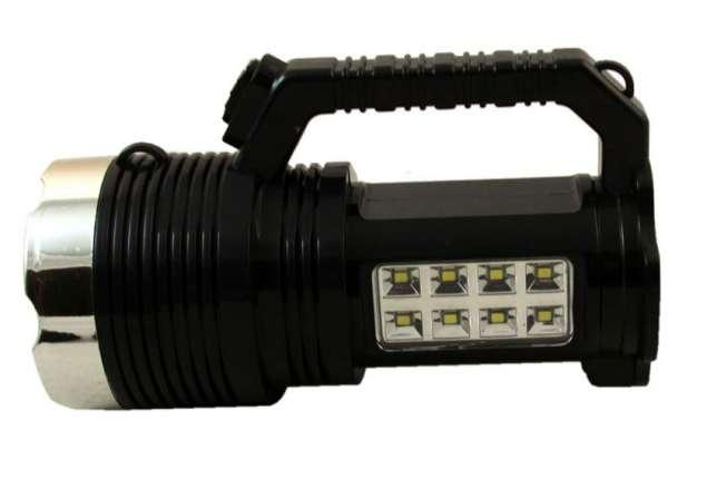Ηλιακός επαναφορτιζόμενος φακός 9  LED Yawang YW 6870